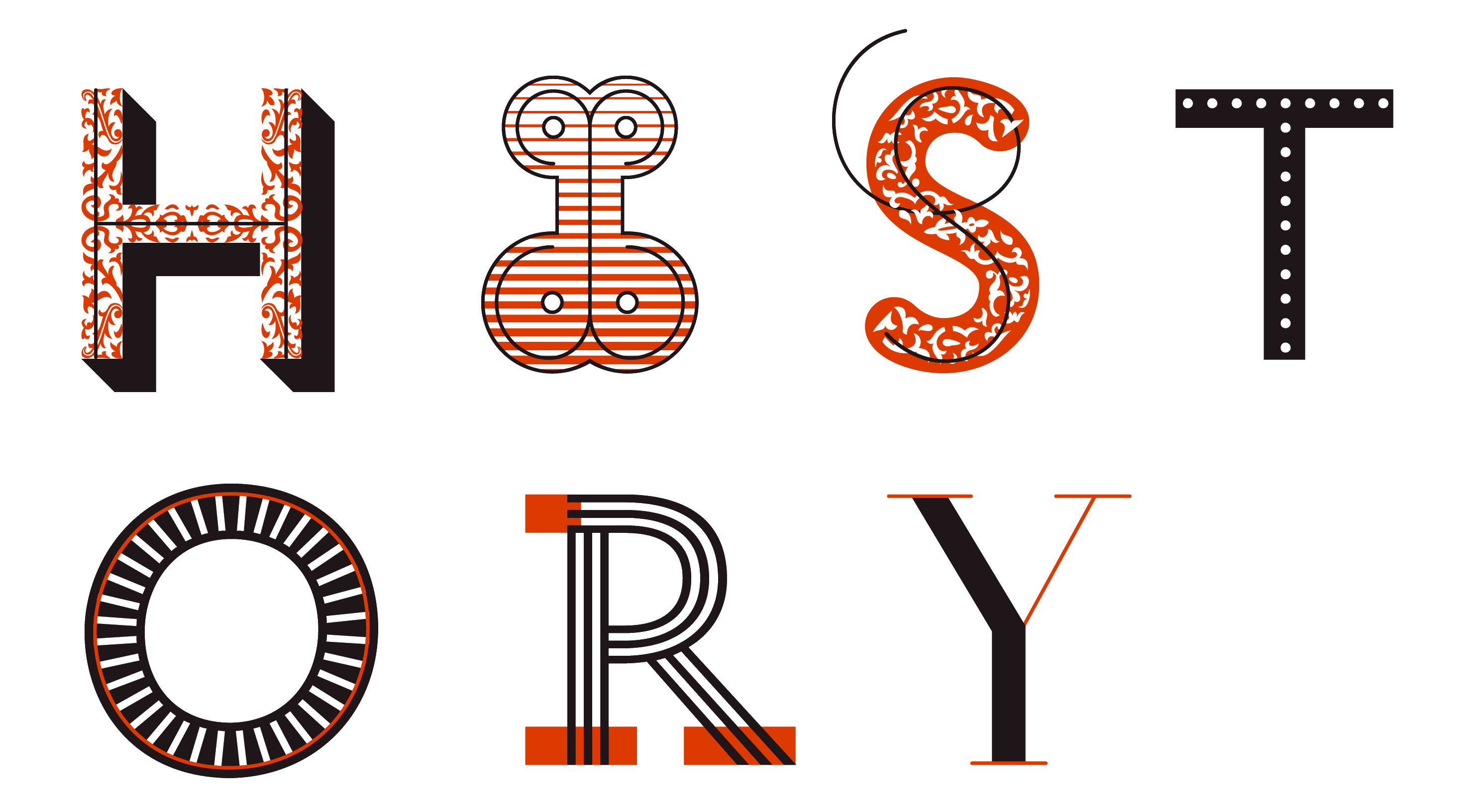History is a mutable typeface by Peter Bil'ak.